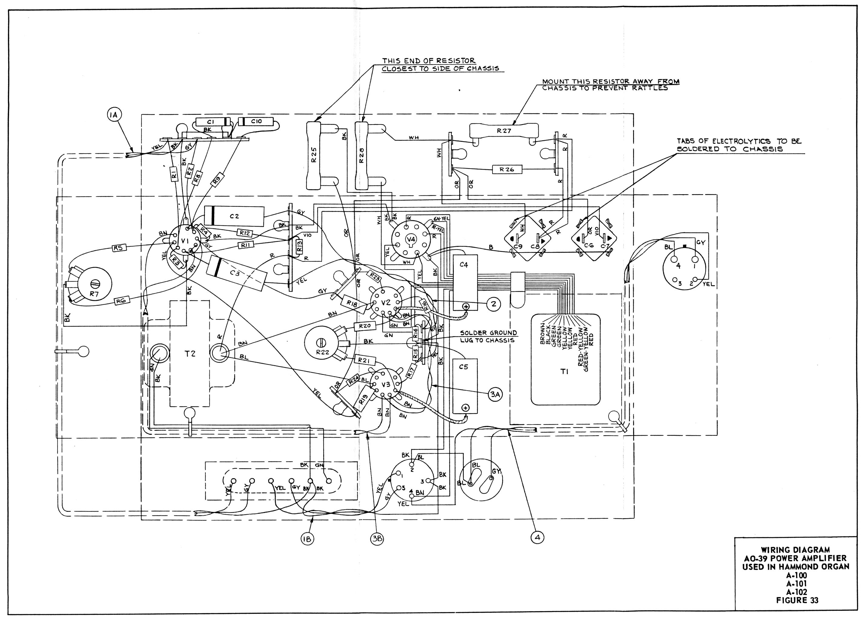 Hammond H Wiring Diagram. Electrical Diagrams, Sincgars