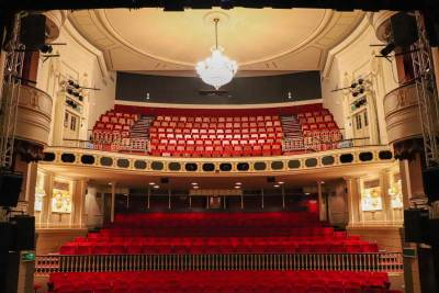 The auditorium from the stage 2