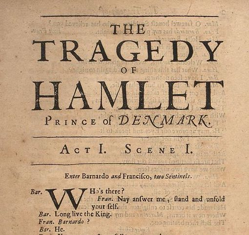 Hamlet: 'The Play's The Thing'
