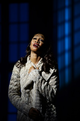 1. Beverley Knight (Rachel Marron) in The Bodyguard at the Dominion Theatre. Photo credit Alessandro Pinna