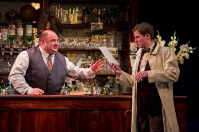 Victor McGuire as Joe Bell and Matt Barber as Fred/Paul