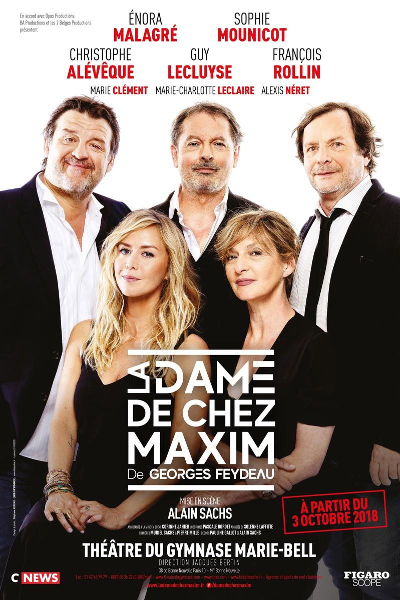 Au Balcon - La Dame de Chez Maxim (Zabou Breitman