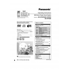 Panasonic SC-HT870 Home Theatre System Cinema Manual Pdf