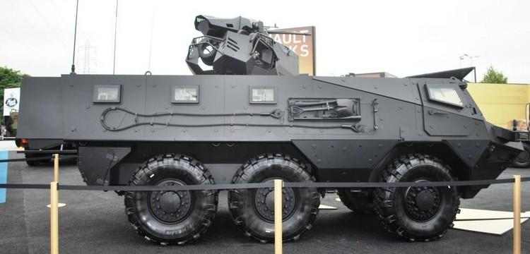 RTD - VAB Mk III - Eurosatory 2012 (Crédit photo : THEATRUM BELLI)