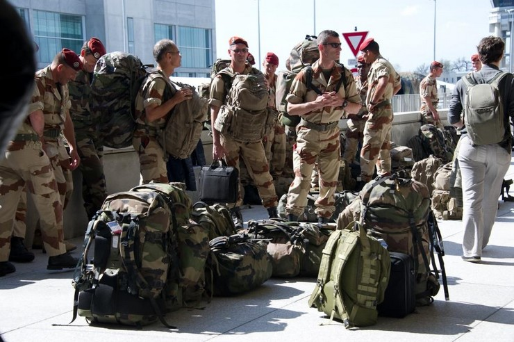 Retour de soldats français du Mali. Crédit : ECPAD / EMA