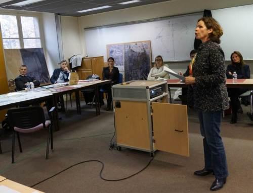 Présentation de la méthode d'un des trois ateliers. Crédit photo : Stéphane Gaudin