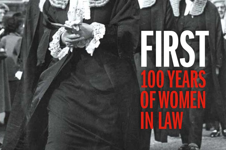 FIRST 100 Years of Women in law - book review