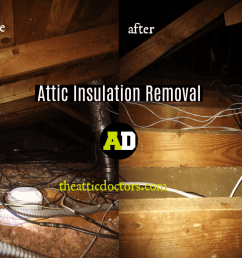 another total attic cleaning was done by the attic doctors  [ 1000 x 800 Pixel ]