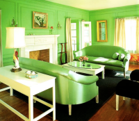 Monochromatic Rooms | The Audacity of Color