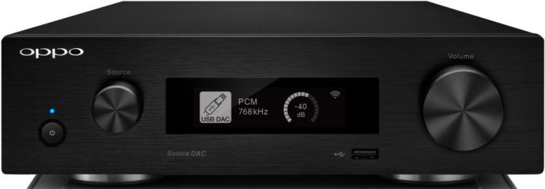 Sonica DAC front