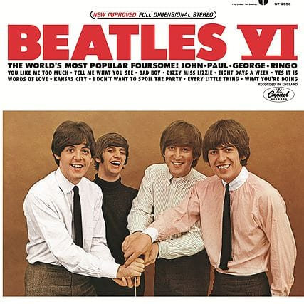 Beatles VI packshot