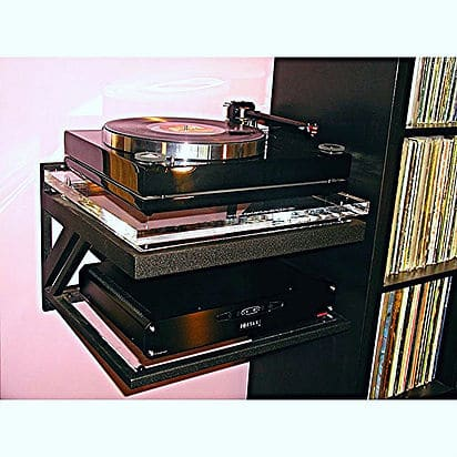 Decent Audio turntable wall shelf - The Audiophile Man