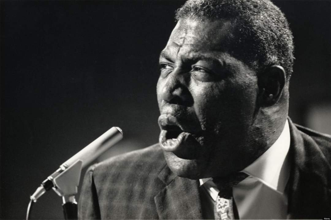 A3NFX5 HOWLIN WOLF - US Blues singer on Ready, Steady, Go in December 1964