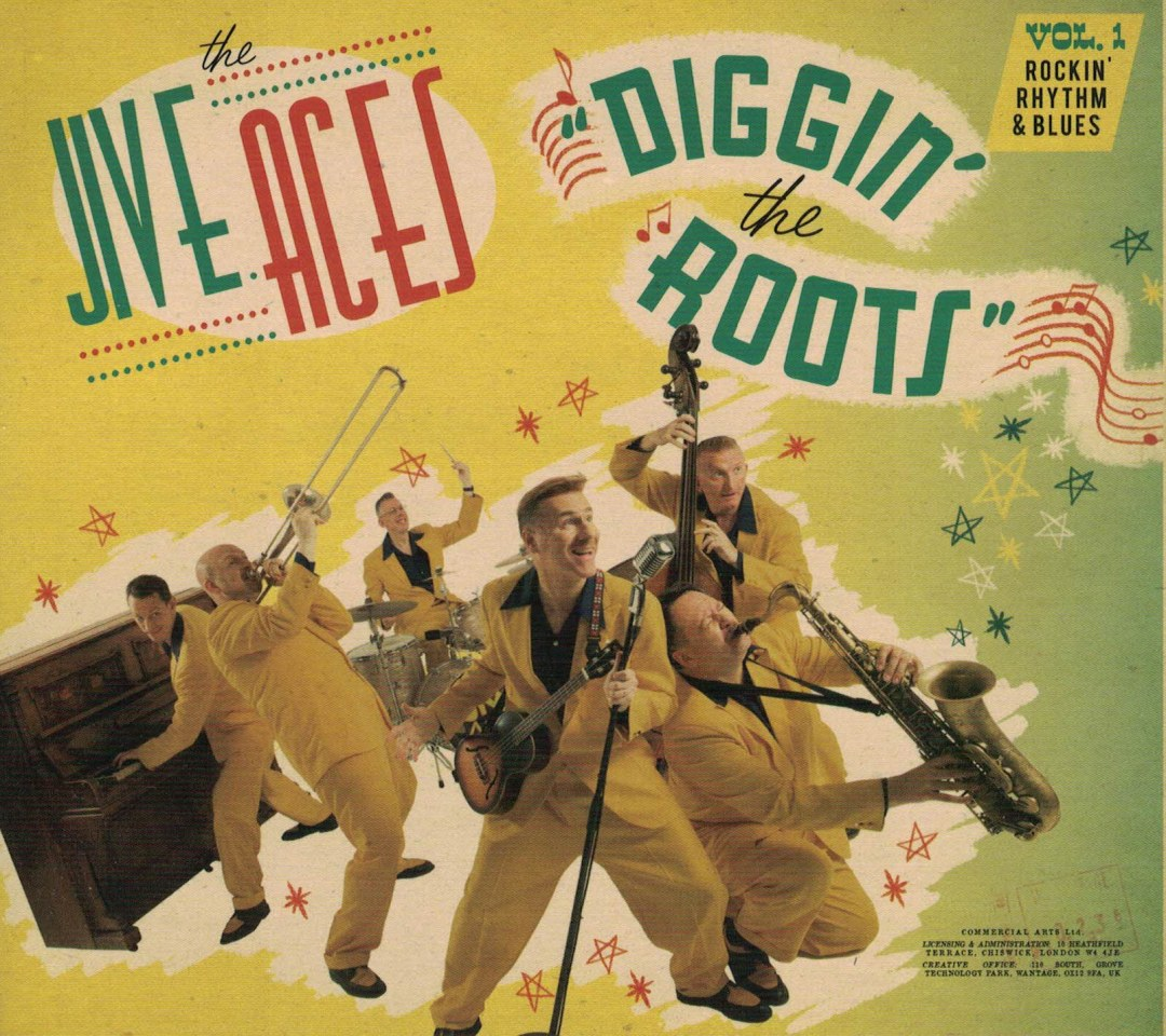 Jive Aces Diggin' the Roots album cover
