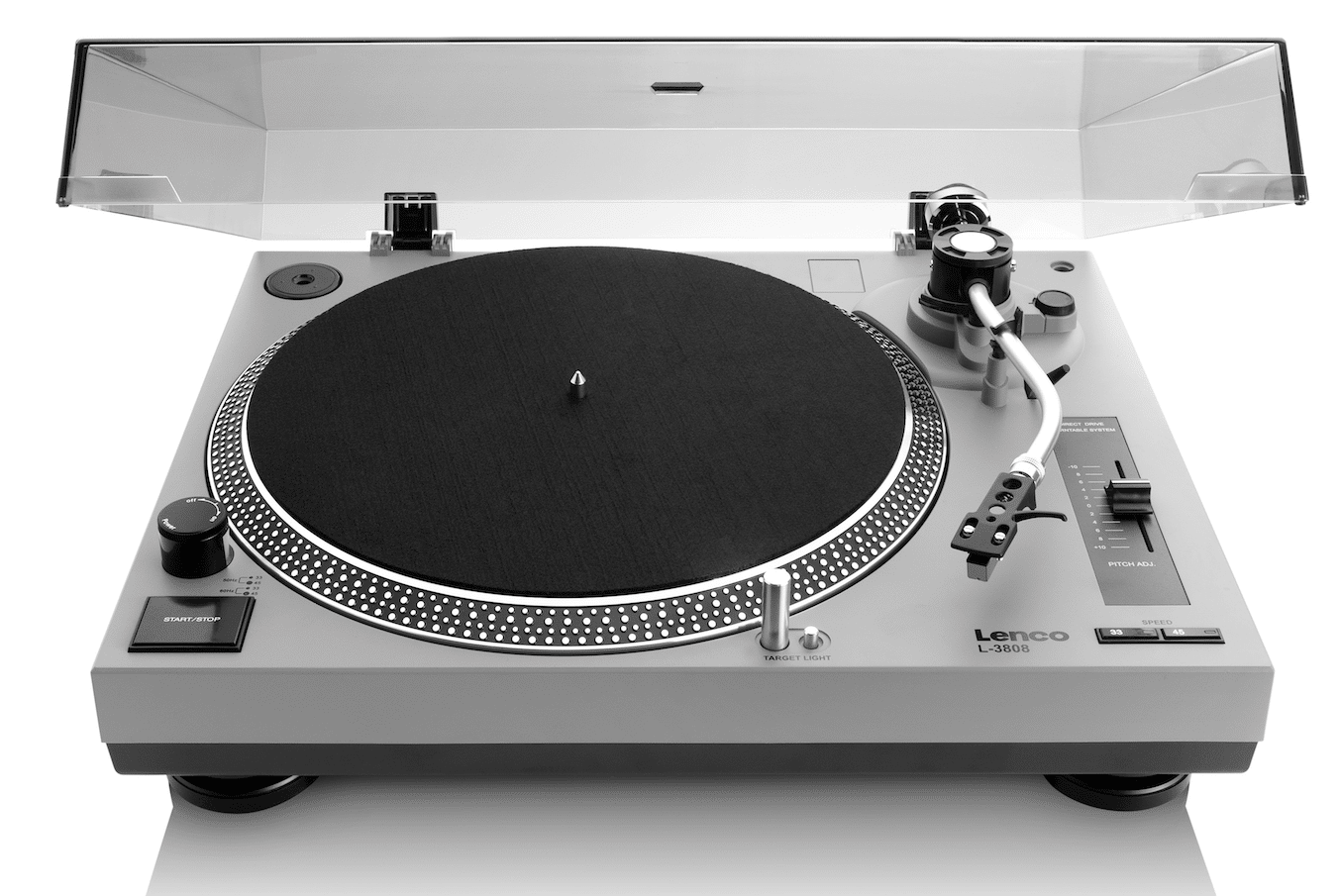 Lenco L 3808 Turntable: Direct Drive on a Budget The