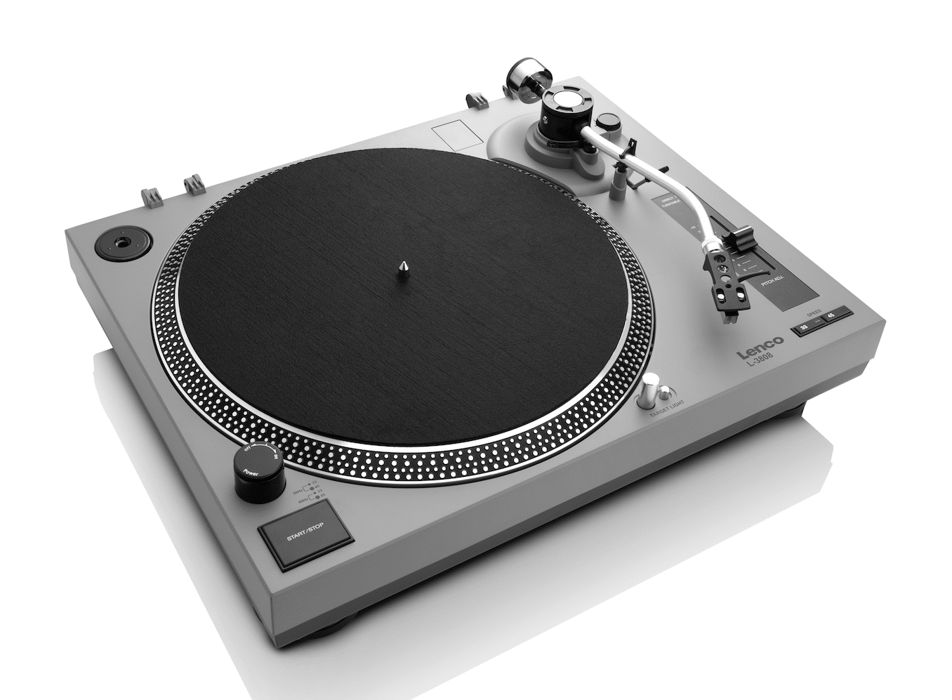 Lenco L-3808 Turntable: Direct Drive on a Budget - The