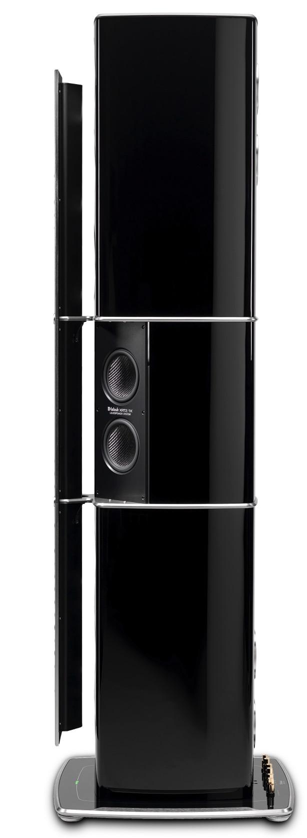 McIntosh announces Nanocarbon-driver tech loudspeaker, the XRT2.1K