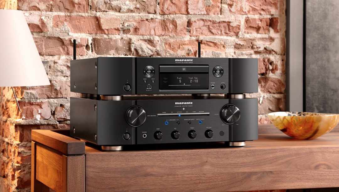 Marantz ND8006: network music/CD player, with DAC-Mode and HEOS support