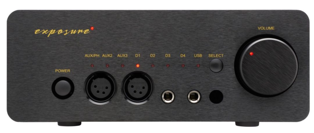 HP headphone amplifier and DAC from Exposure
