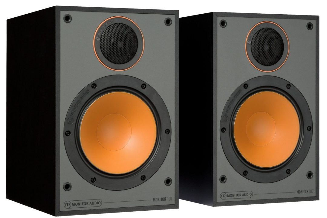 Monitor Audio's Monitor Series With…Orange Driver Cones!