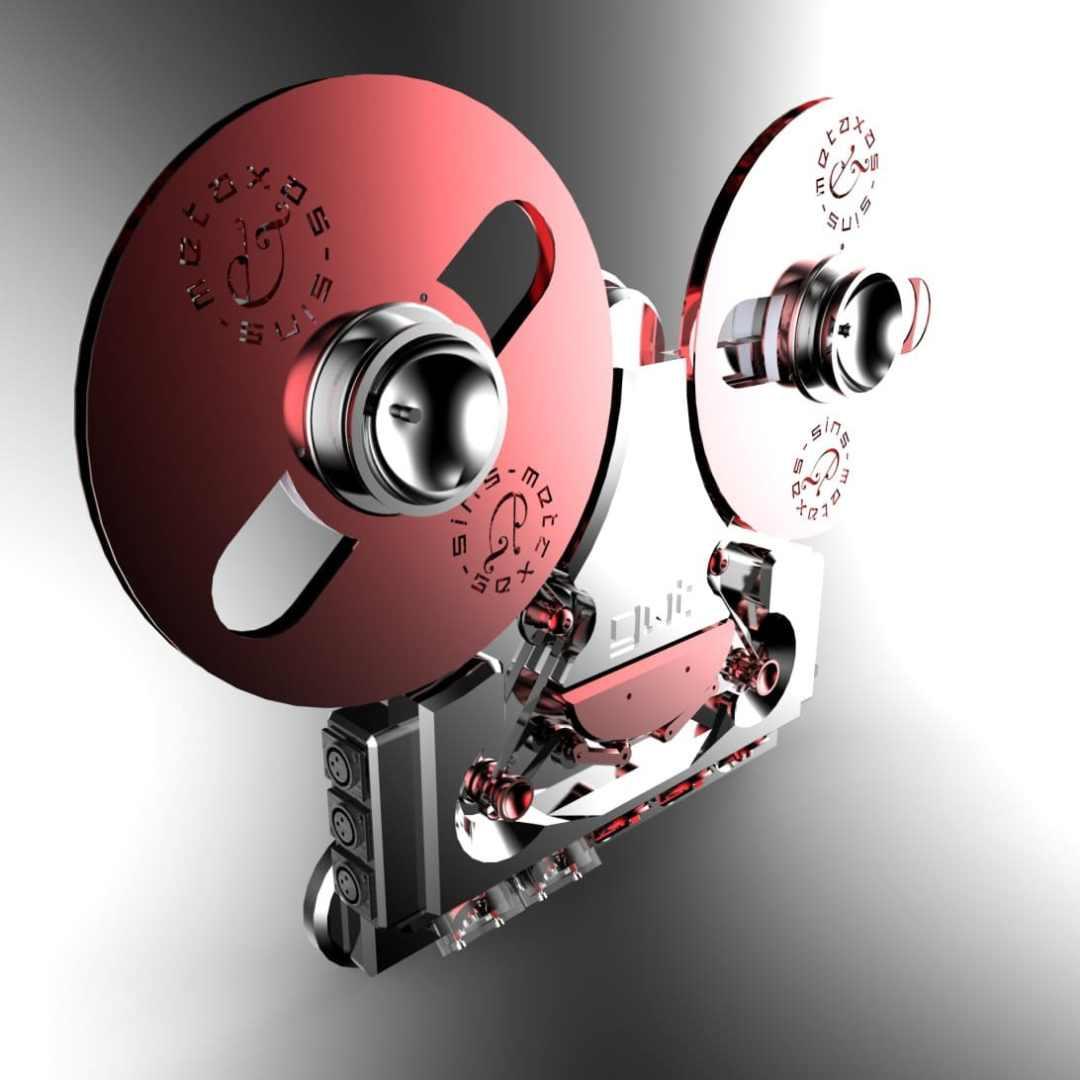 Metaxas & Sins' new open reel tape recorder