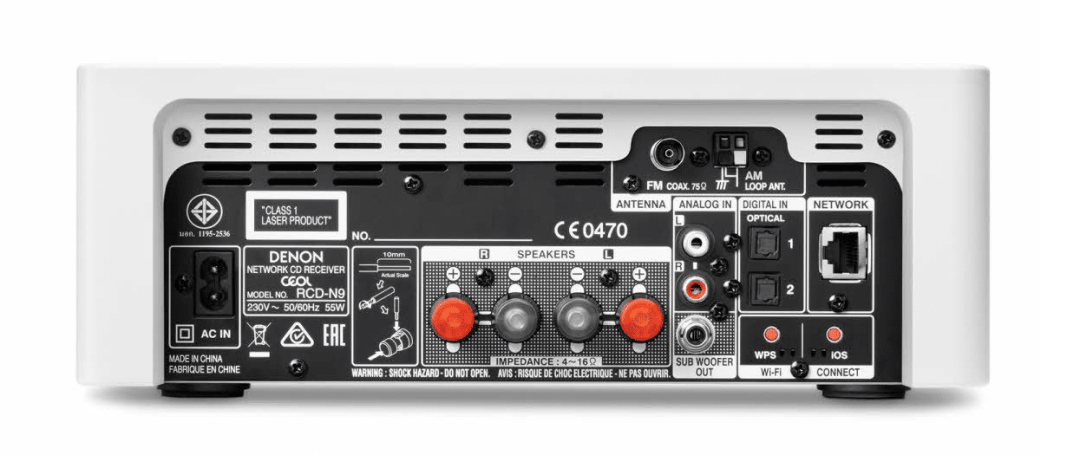CEOL N10 music system From Denon