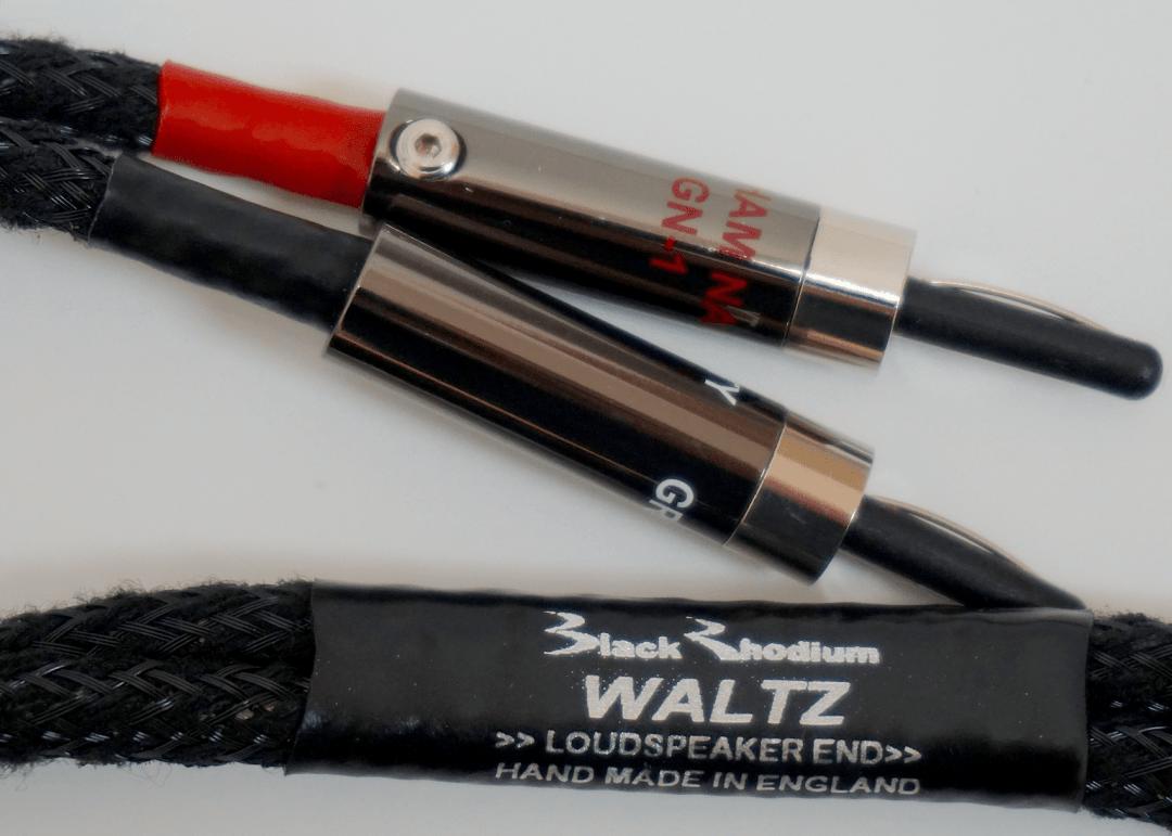 Oratorio & Waltz Cables From Black Rhodium