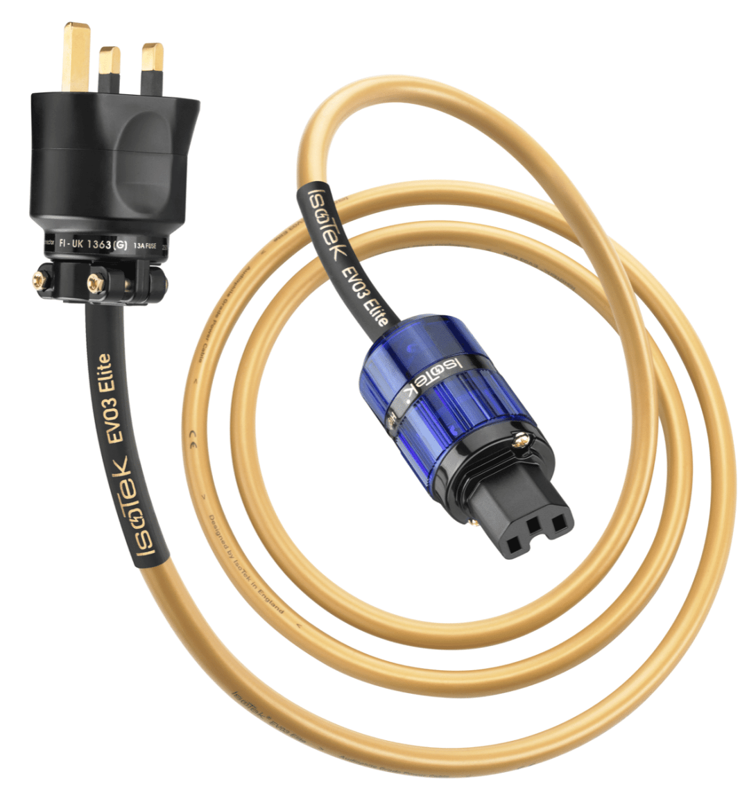 EVO3 ELITE power cable From Isotek