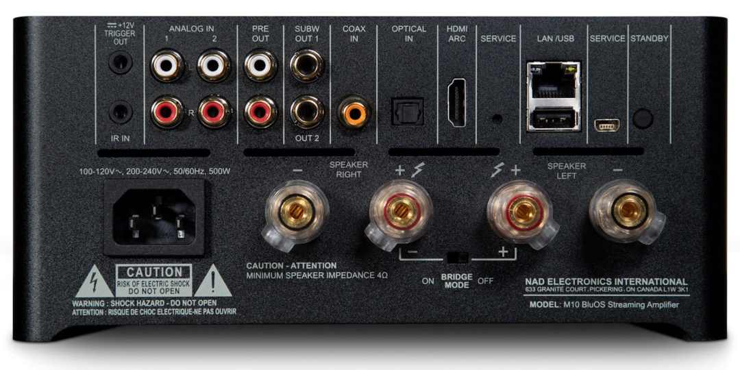 M10 BluOS Streaming Amplifier From NAD