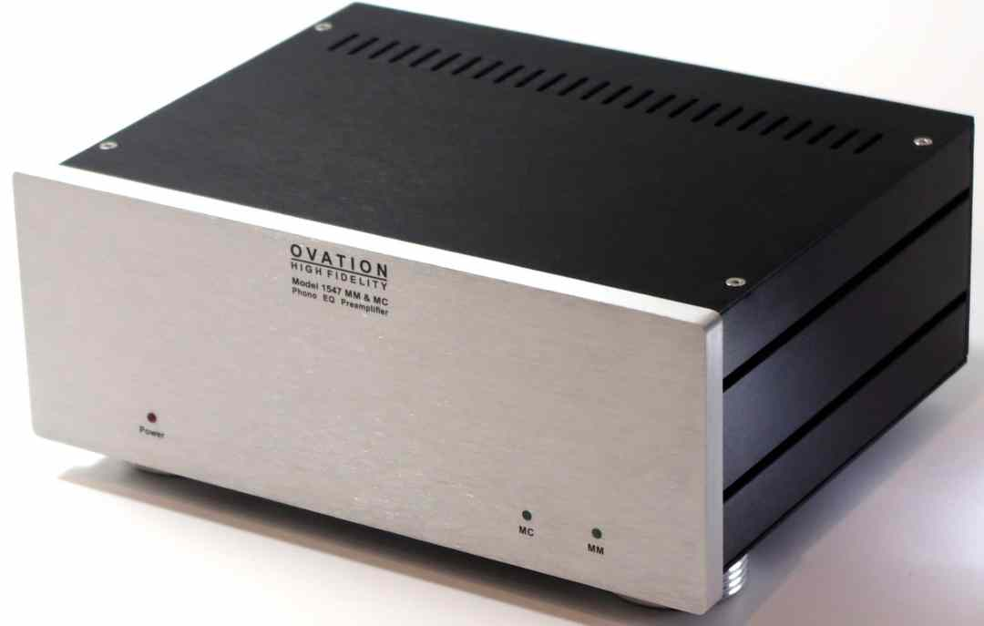 1547 Phono Amp From Ovation High Fidelity