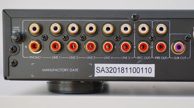 SA3 integrated amplifier From IOTAVX