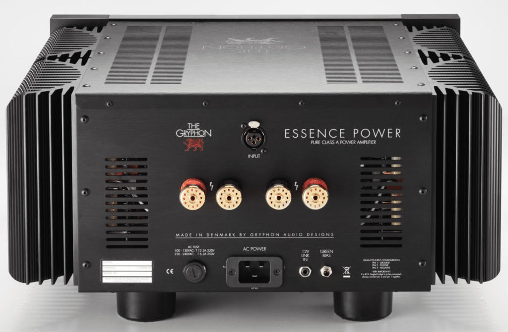 Essence Monoblock Amplifiers from Gryphon