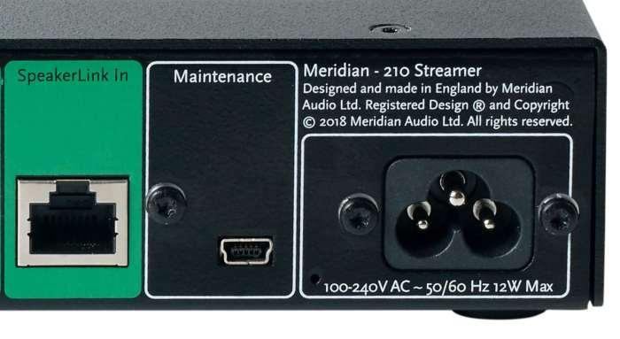 210 Streamer From Meridian