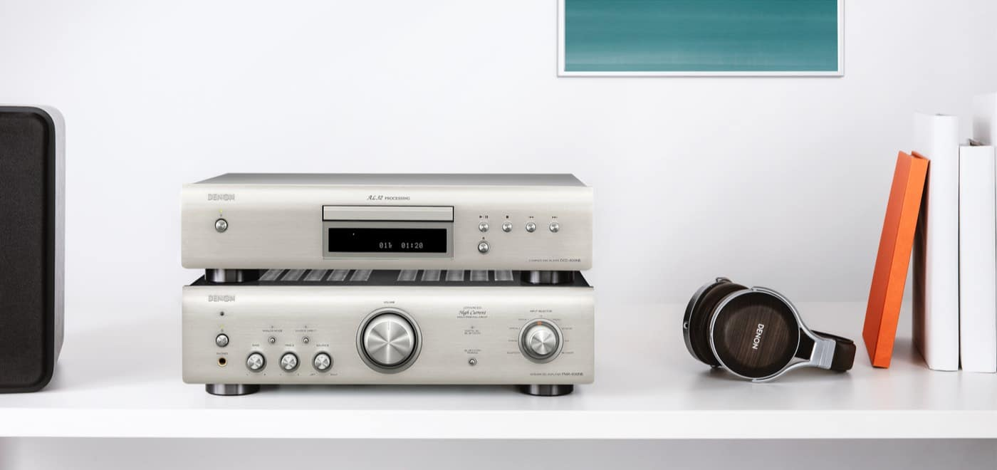 PMA-600NE and DCD-600NE From Denon - The Audiophile Man