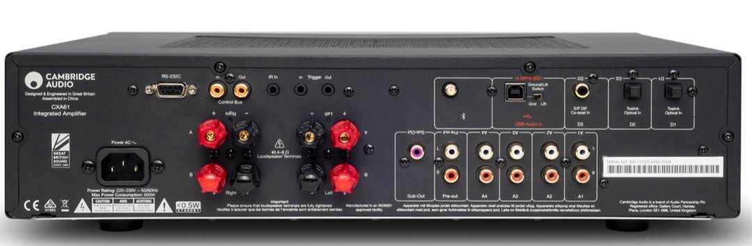 CXA61 Amplifier From Cambridge Audio - The Audiophile Man