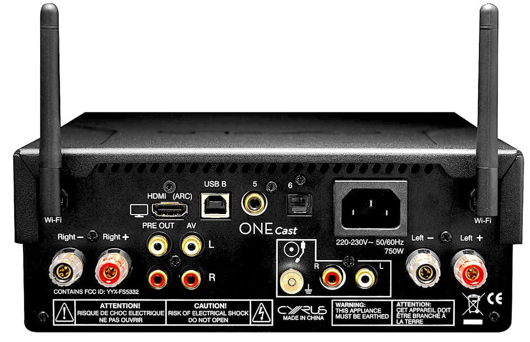 ONE Cast Streaming Amplifier from Cyrus