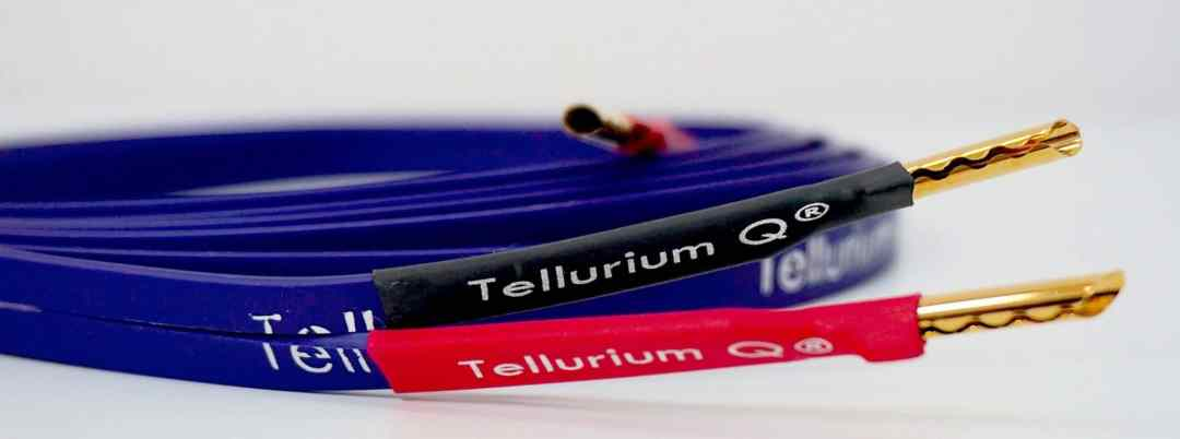 Blue II Speaker Cables From Tellurium Q