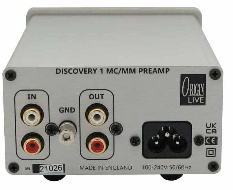 DISCOVERY 1 PHONO AMP ORIGIN LIVE