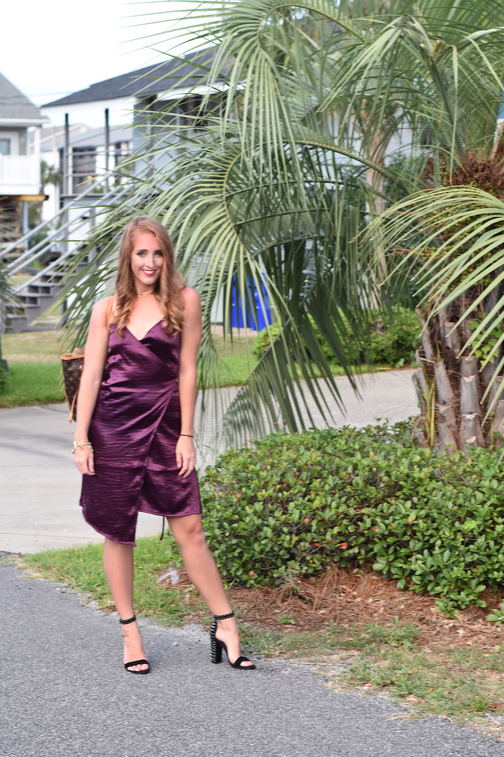 Leith Wrap Dress Maroon The Audrey Reel Nordstrom Sale