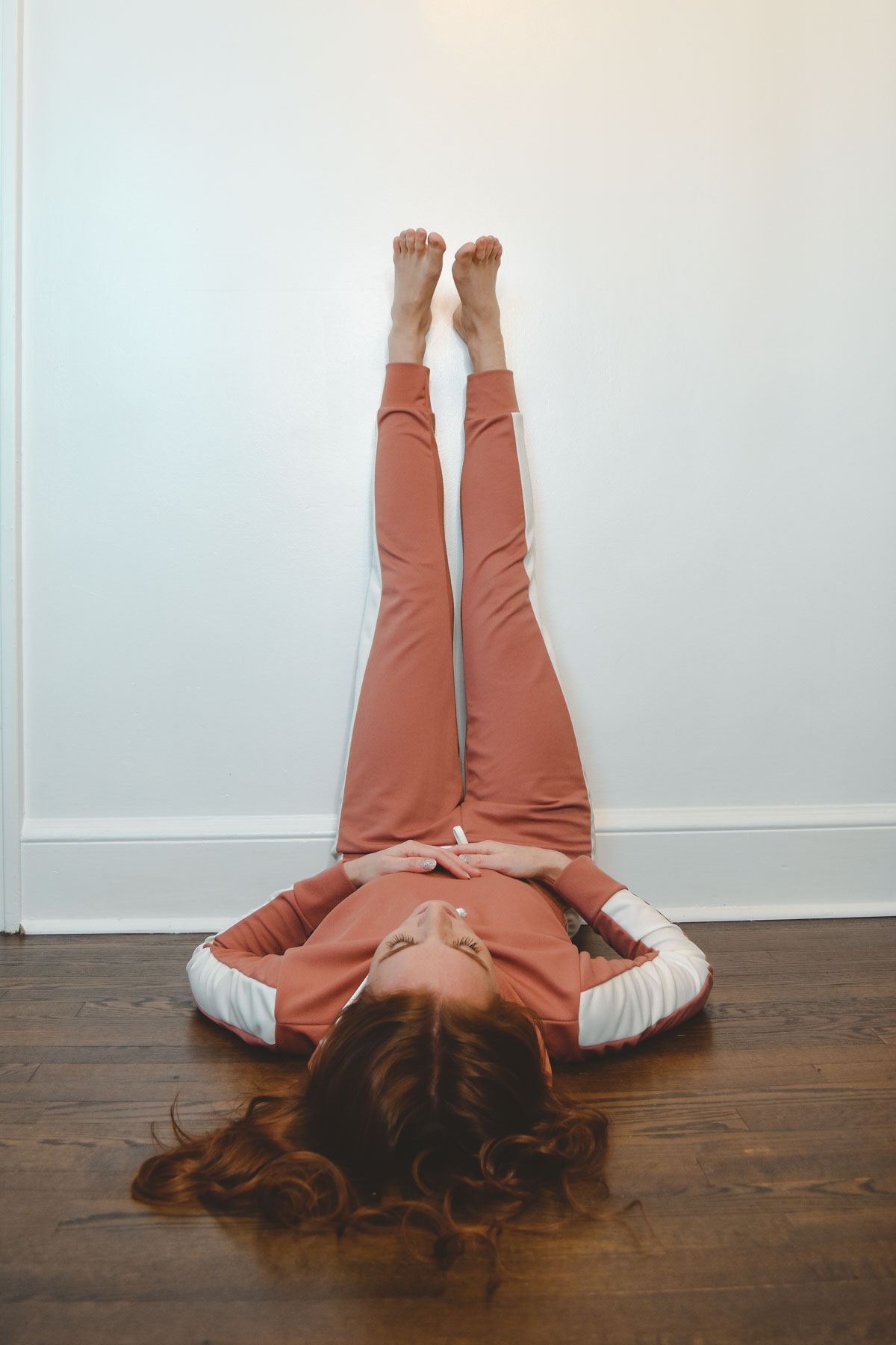 Yoga for Anxiety Benefits of Legs Up the Wall • Fashion ...