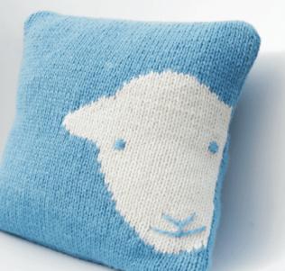 Herdy Cushion knit kit ©The Herdy Company