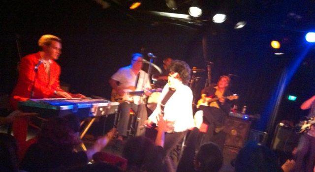 Wanda on stage
