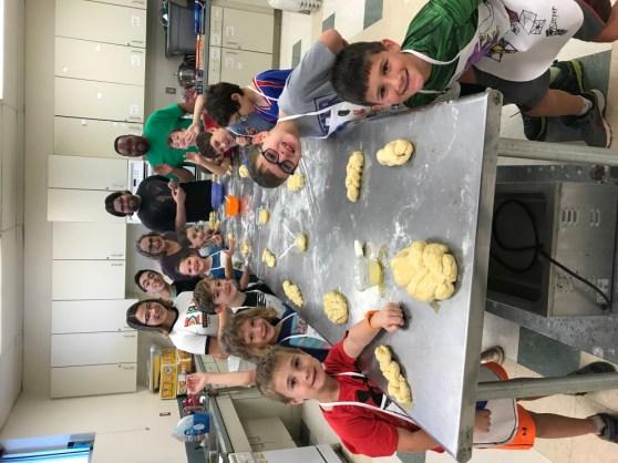 2nd Grade Chllah Bake