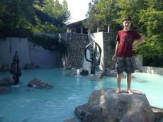 Our favorite wading pool at Seattle Center near the San Juan Rooms