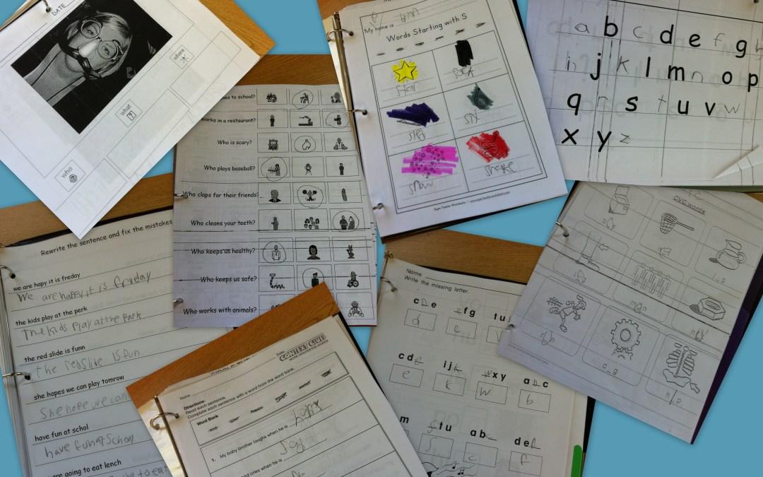 Faq Homework And Worksheets The Autism Helper