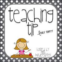 Teaching Tip: Positive Reinforcement!