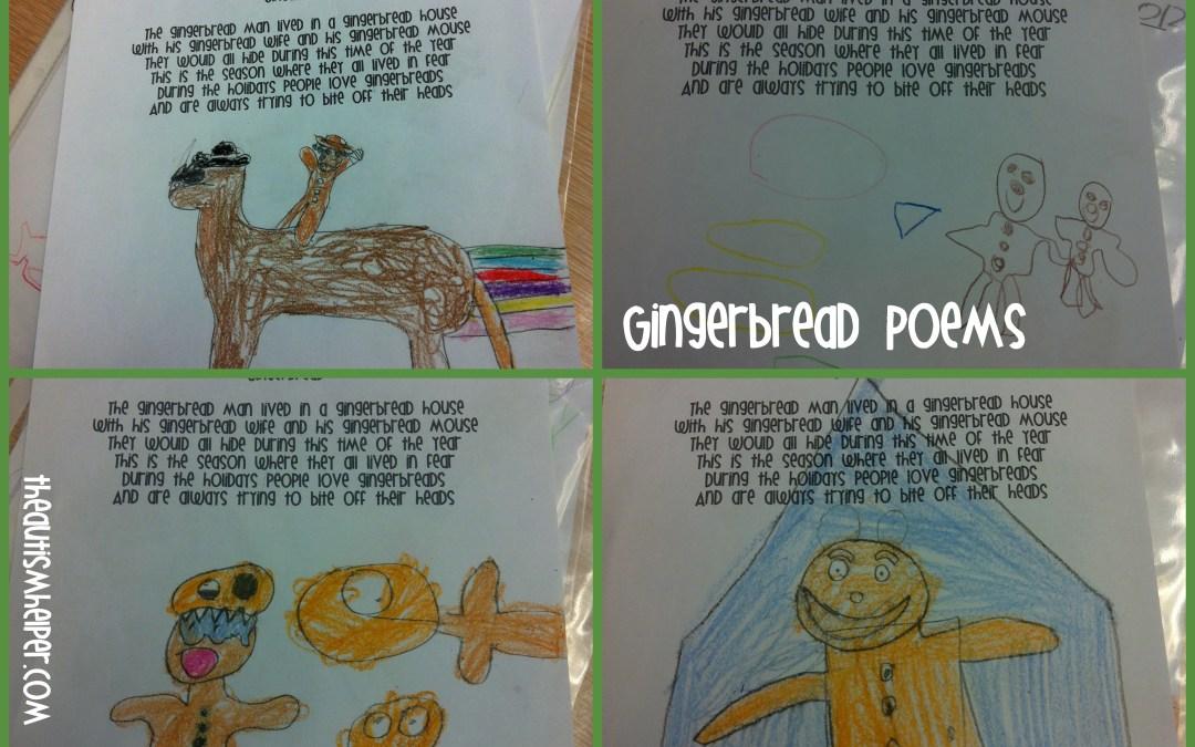 Gingerbread Poem!