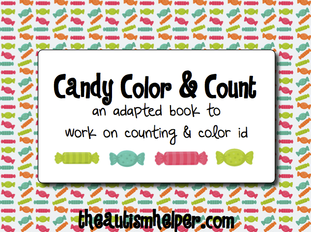 New Adapted Book: Candy Color and Count!