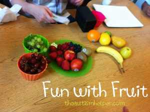 The Autism Helper - Fruit Activity