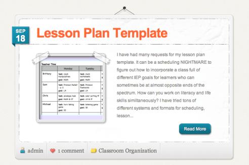 Organization Planning Paperwork The Autism Helper